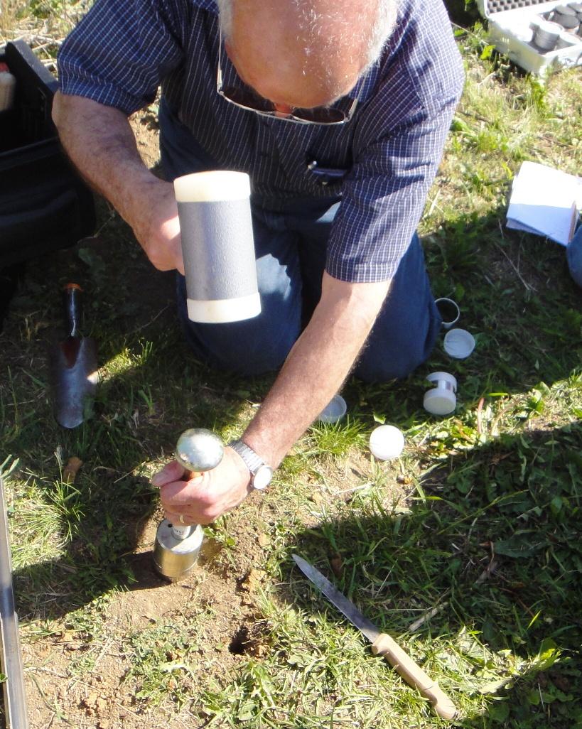 Undisturbed Soil Core Sample